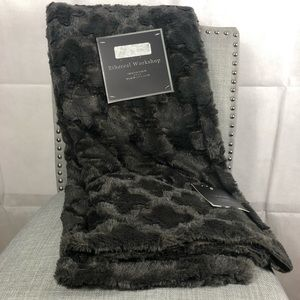 Ethereal Workshop Faux Fur Throw
